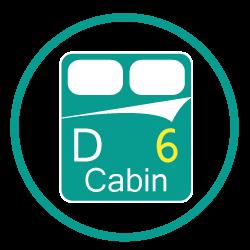 Private Double Cabins