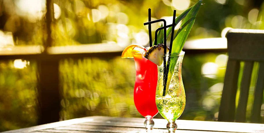 Cocktails at Whitsundays Resort