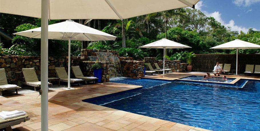 Swimming Pool Area at Palm Bay Resort Whitsundays