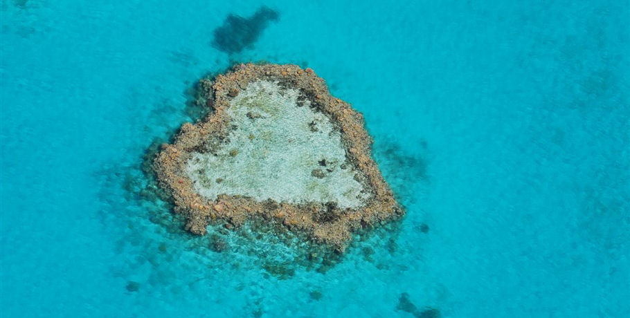 Scenic Flight of the Heart Reef