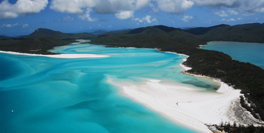 Hill Inlet at Whitsunday Island