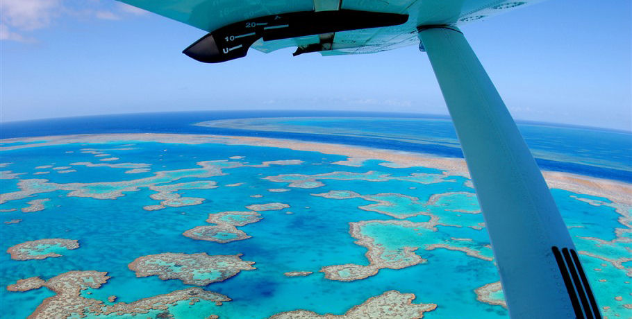 Seaplane to the Great Barrier Reef