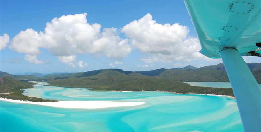 Flight over the Hill Inlet