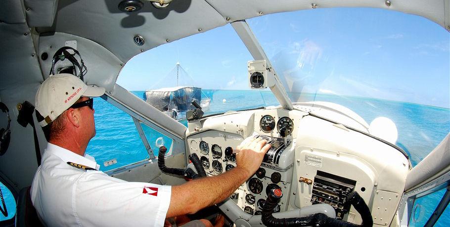 Seaplane Pilot in the Whitsundays