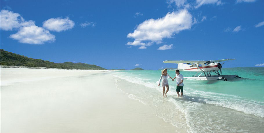 Couple in the Whitsundays