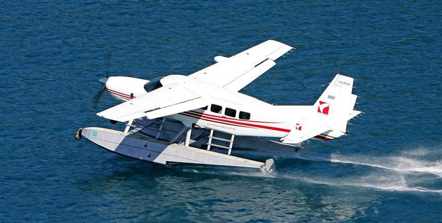 Air Whitsundays Seaplane Water Landing