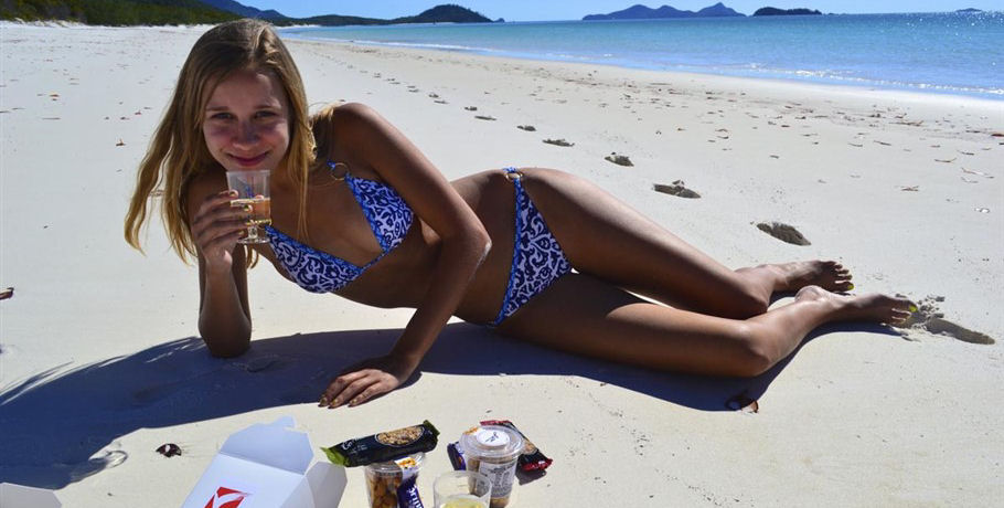 Whitehaven Beach Picnic