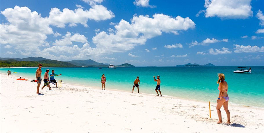 Fun and Games at Whitehaven Beach