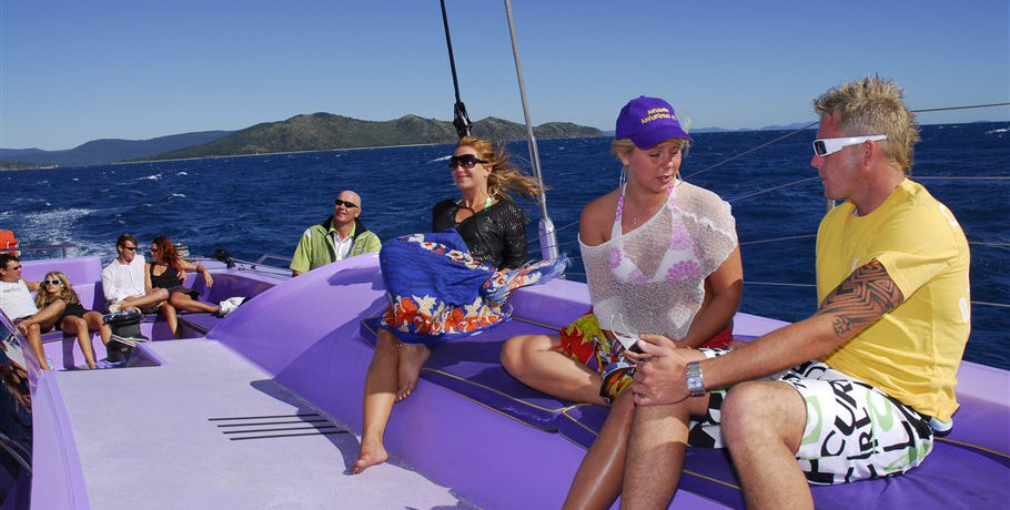 Relaxing Sail on the Whitsundays Camira