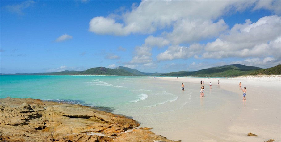 Northern End of Whitehaven Beach