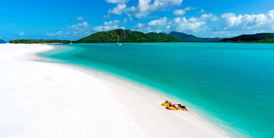 Relaxing in the Whitsundays