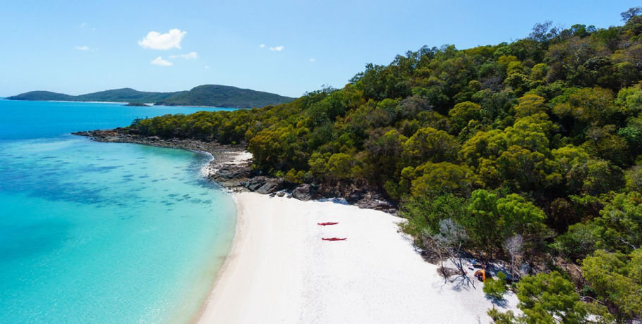 Southern End of Whitsunday Island