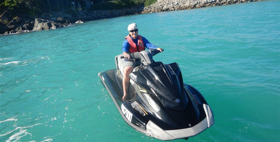 Jetski and Whitehaven Beach Airlie Beach Day Tour