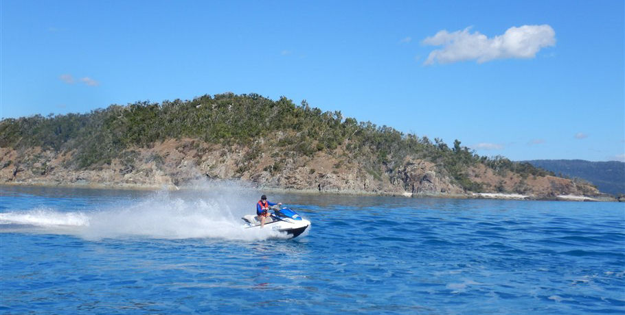 Jetski the Coral Sea