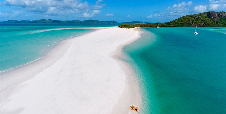 Relaxing in the Beautiful Whitsundays